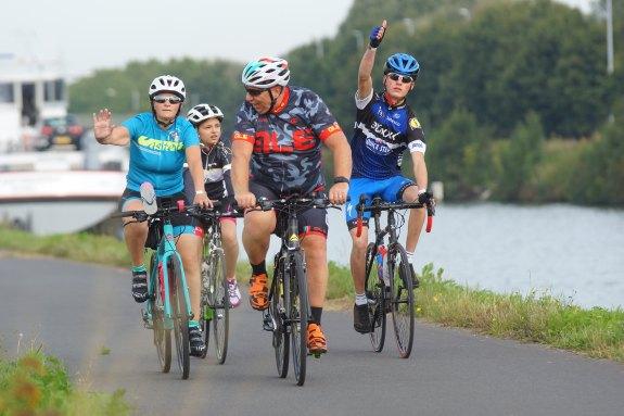 Gezellig fietsen op vrijdag tijdens West-Vlaanderens Mooiste
