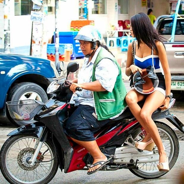Asoke Nana along Sukhumvit Road Bangkok