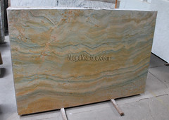 Golden Zellig Quartzite Slab