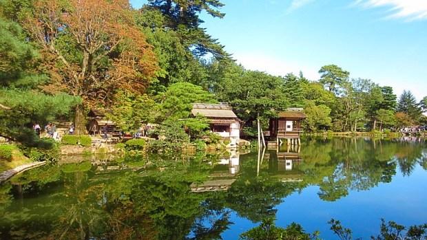 Famous Japanese Garden Kanazawa