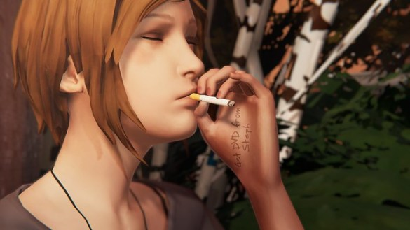 Life is Strange Before the Storm - Chloe Smoking