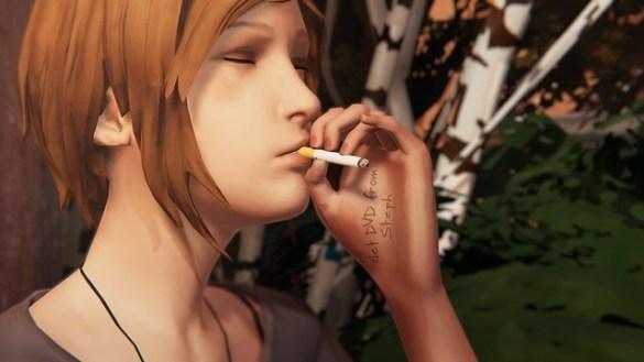 Life is Strange Before the Storm - Chloe Smoking