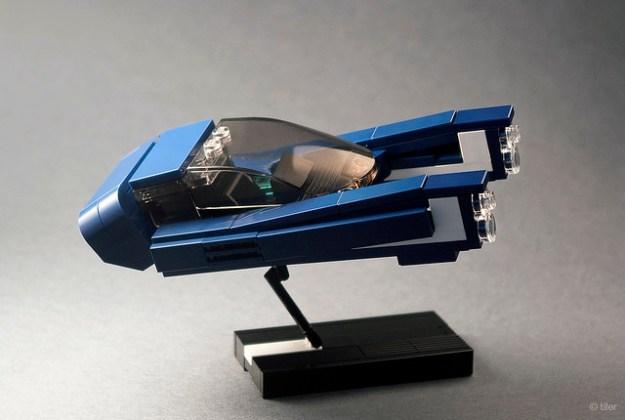Blade Runner 2049  –  Police Hover Car / 01