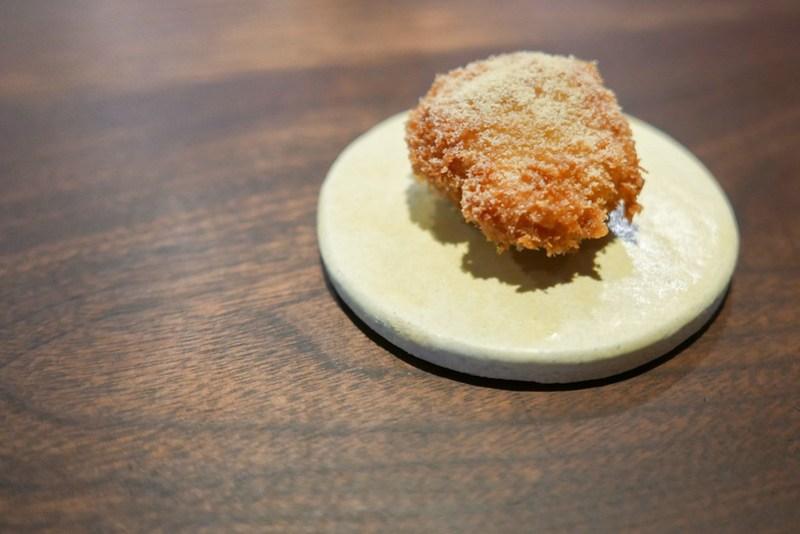 Chicken Oyster, White Kimchi