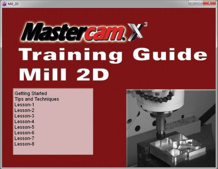 Hướng dẫn lập trình gia công 2D với mastercam X3