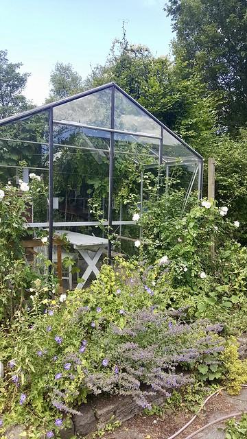 Kas landelijke tuin