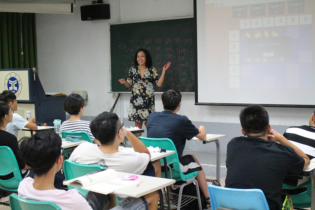 YZU English Camp with a thousand students has opened 元智大學千人英語營8/30開跑