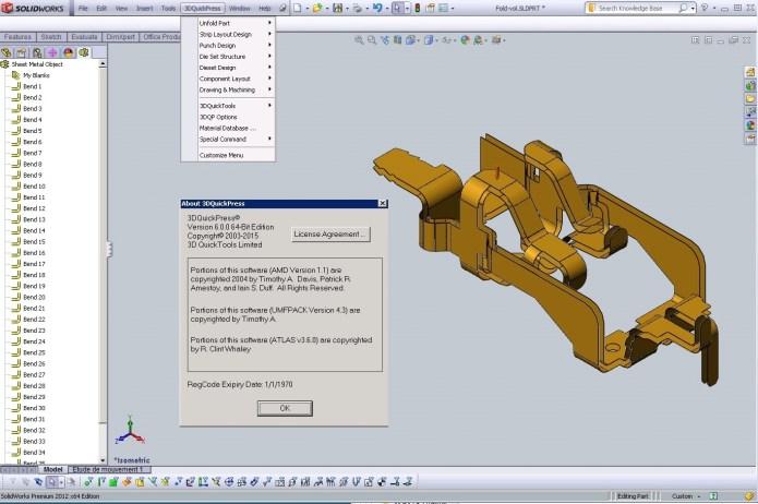 Làm việc với phần mềm 3DQuickPress v6 full crack