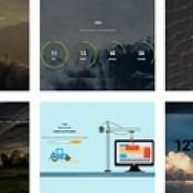 Responsive Site Elements Widget Templates from ThemeVault.