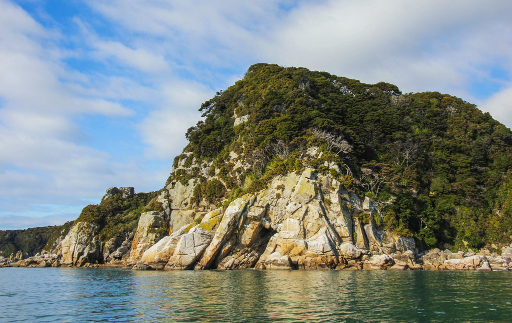 Cruise i Abel Tasman National Park, New Zealand