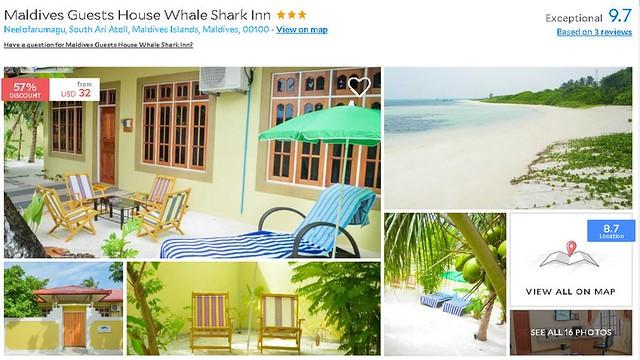 Maldives Guest House Whale Shark Inn - Maldives Cheap Accommodation
