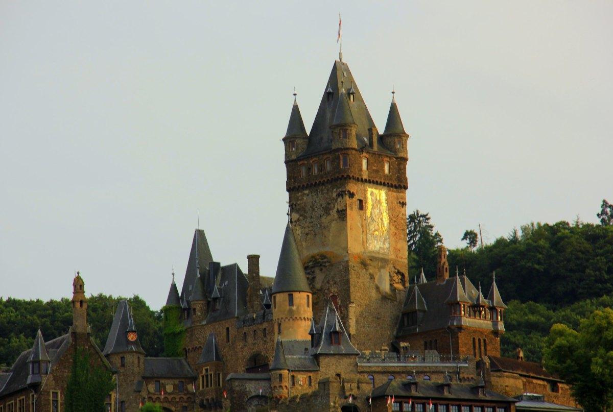 CChem castle sits atop a hill