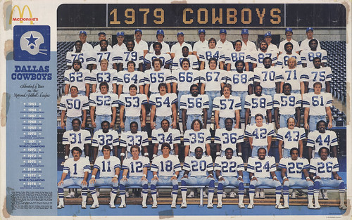 Dallas Cowboys 1979 Poster Front 300dpi FlickrFormat