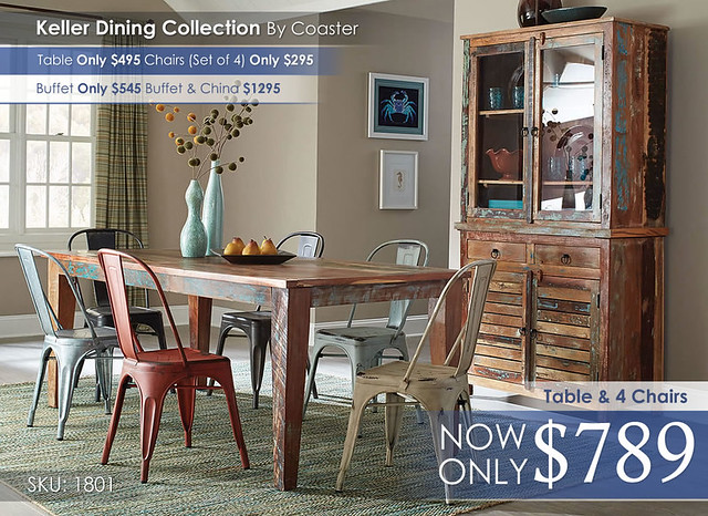 Keller Dining Collection 180161-105612-105615-180174