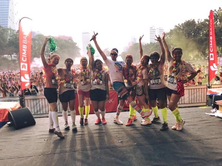 The CIMB Color Run™ Wows 13,000 Runners In Kuala Lumpur