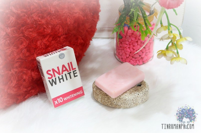 Snail White Soap 10x Whitening Power 70g