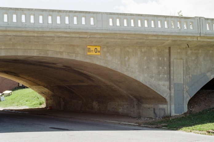 Under the Meridian St. Bridge
