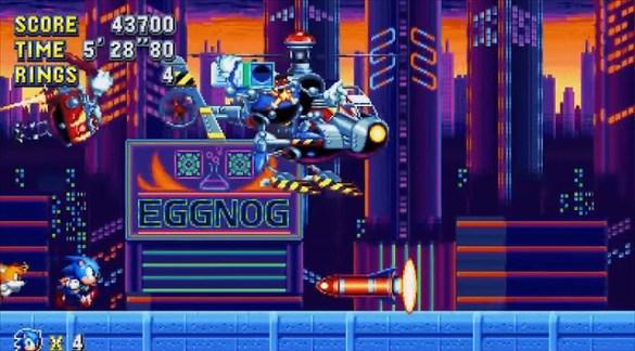 Sonic Mania - Studiopolis Boss