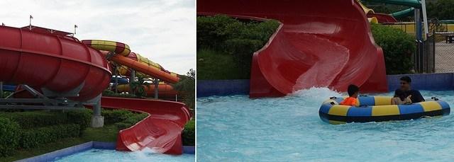 Legoland Waterpark Slides