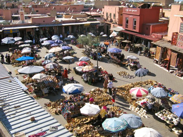 Rooftop en Marrakech
