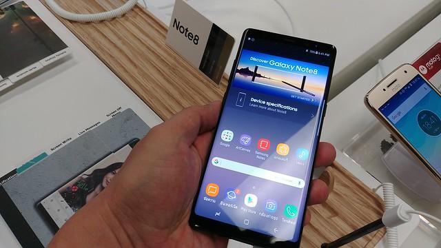 ไปลองเล่นมาแล้ว Samsung Galaxy Note 8