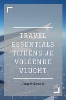 Travel essentials vlucht