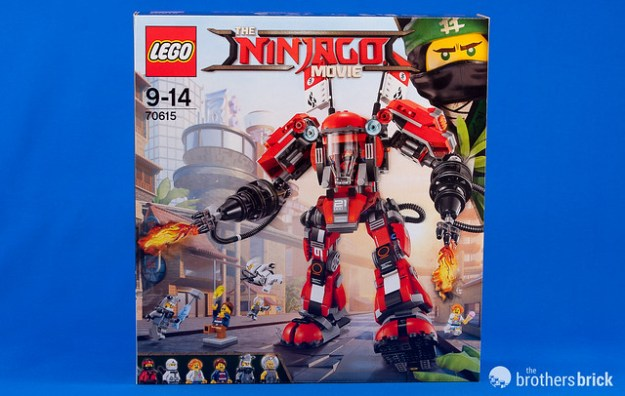 LEGO Ninjago Movie 70615 Fire Mech [Review] | The Brothers Brick ...