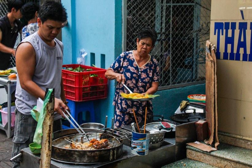 Bánh Xèo, vietnamesiske pandekager