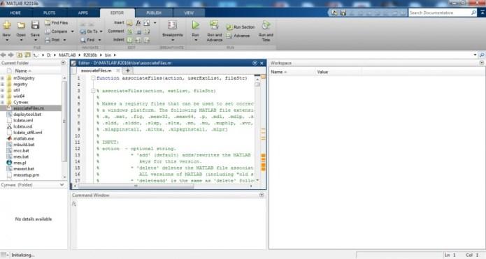 Làm việc với môi trường Mathworks Matlab R2016b full