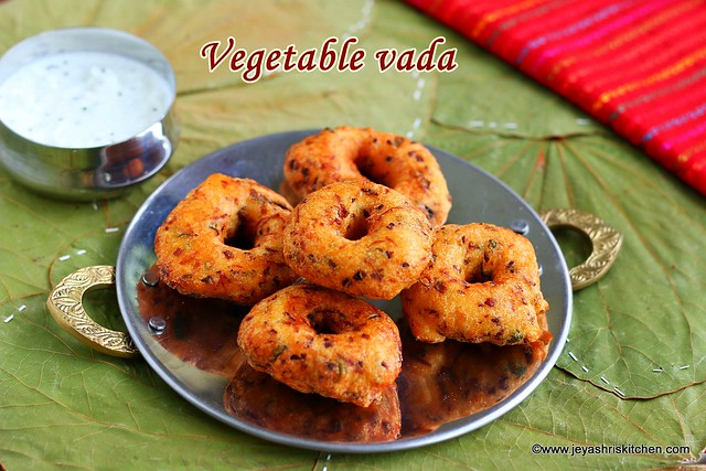 Vegetable medhu-vadai