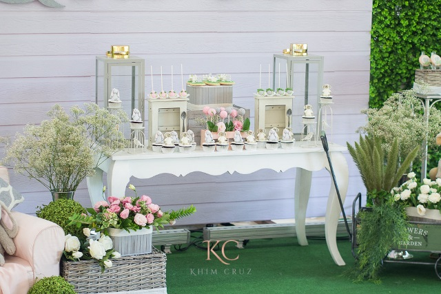 rabbit party dessert spread
