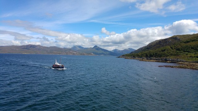A view from the Mallaig-Armadale ferry