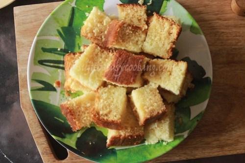 Hot milk cake 5