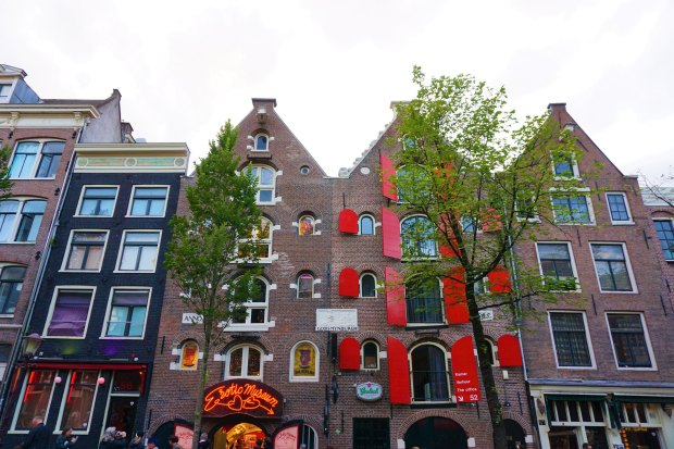Red Light District houses