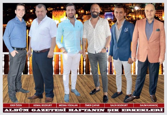Erdi Özen, Kemal Bozkurt, Mesna Yüzalan, Ömer Çapar, Salih Bozkurt, Salim Karakoç