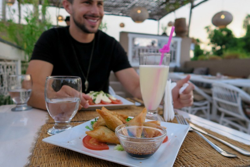 Wanderlust Us Travel Blog - Sunset Dining At Atay Cafe