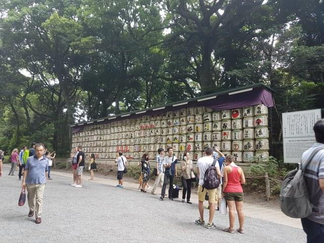 Sake offering
