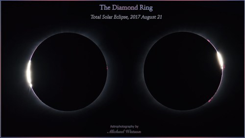 2017 Aug. 21 ~ The Diamond Ring - total solar eclipse