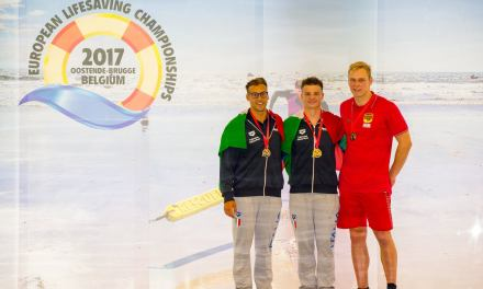 Europei Lifesaving day 1: grande tris
