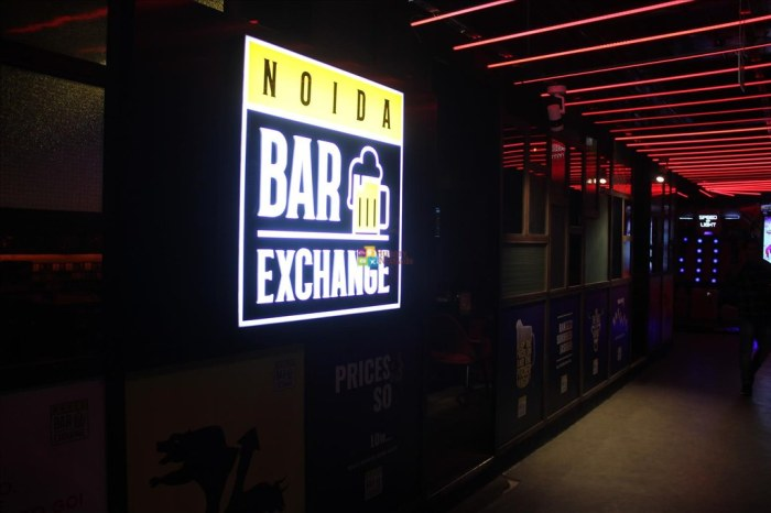 hungrynomads noida bar exchange smaaash dlf mall of india