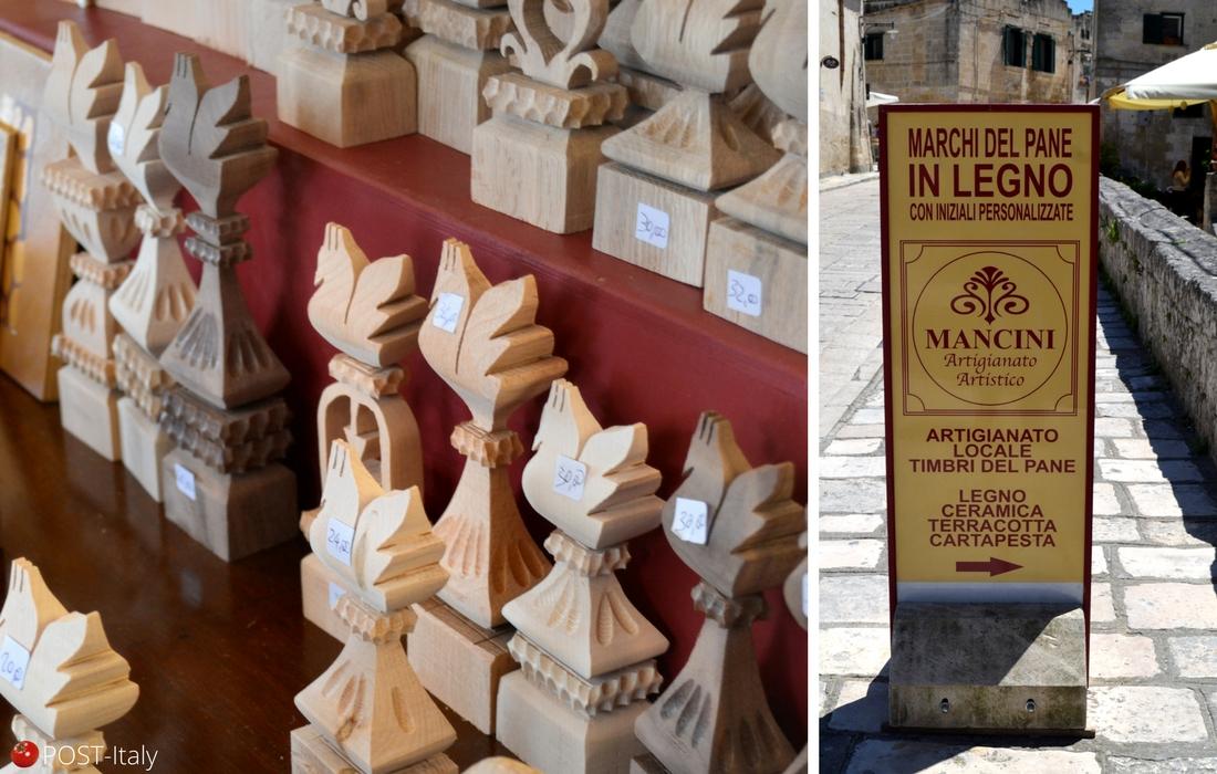 Carimbos para pães italianos