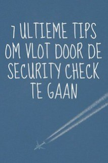 vlot door de security check