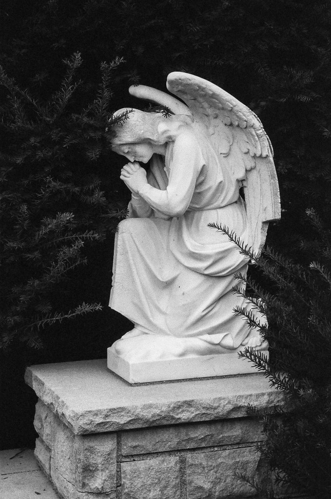 Praying angel *EXPLORED*
