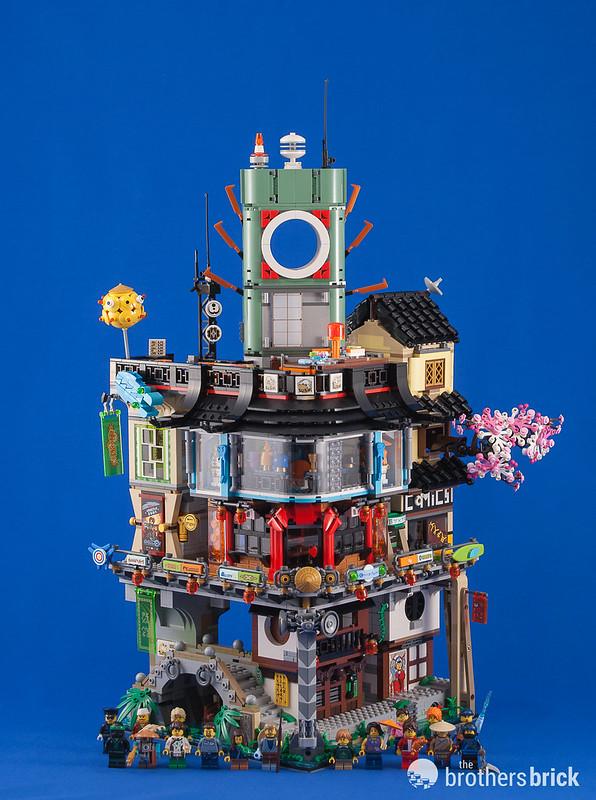 The LEGO Ninjago Movie's largest set: 70620 Ninjago City ...