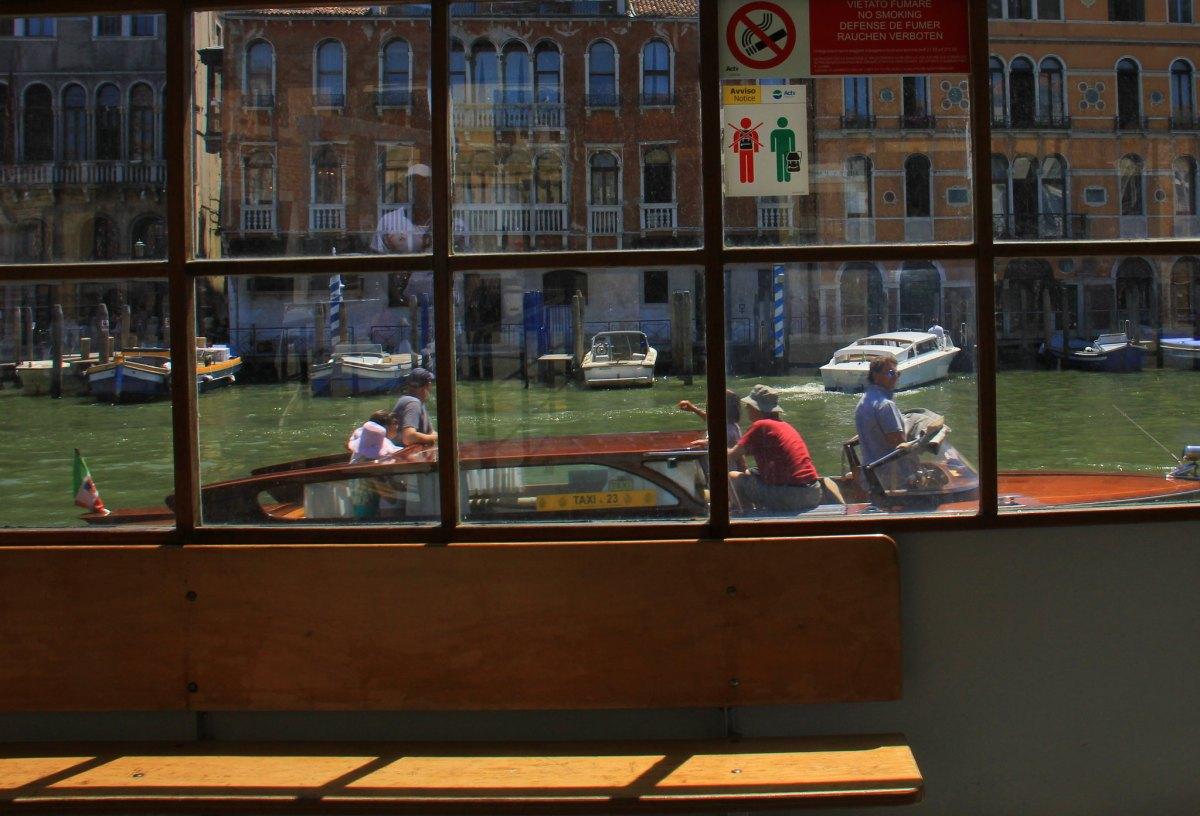 ACTV Vaporetto stop in Venice