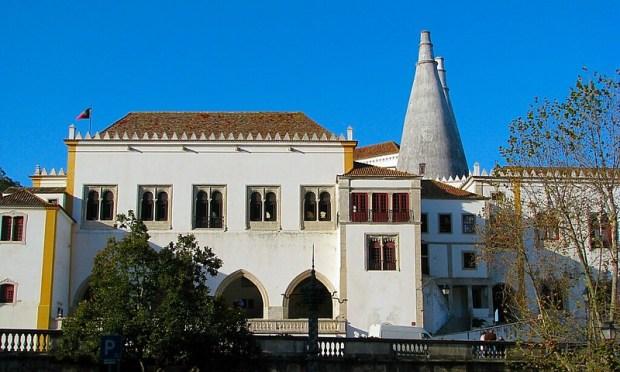 Sintra Portuguese town near Lisbon