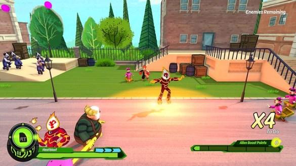 Ben 10 Video Game_Heatblast