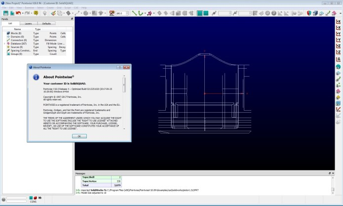 Working with PointWise 18.0 R4 full license forever