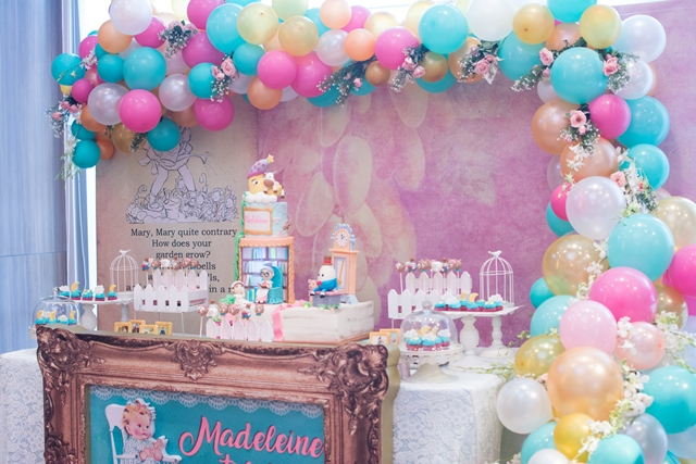 Madeleine S Vintage Nursery Rhymes Themed Party 1st