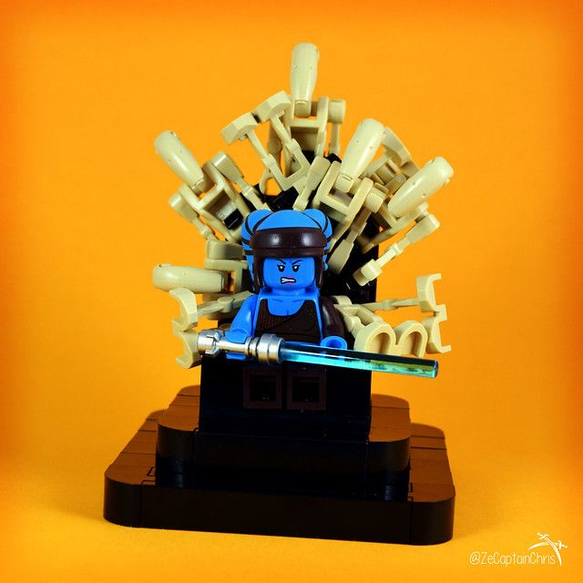 Ze Throne of Aayla Jedi